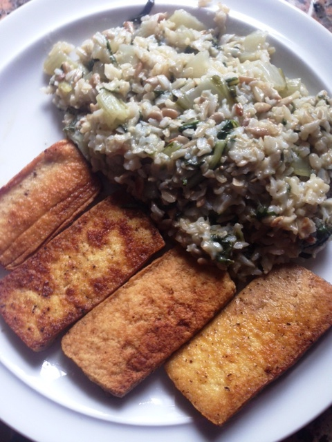 6 Manogld Risotto mit Tofu