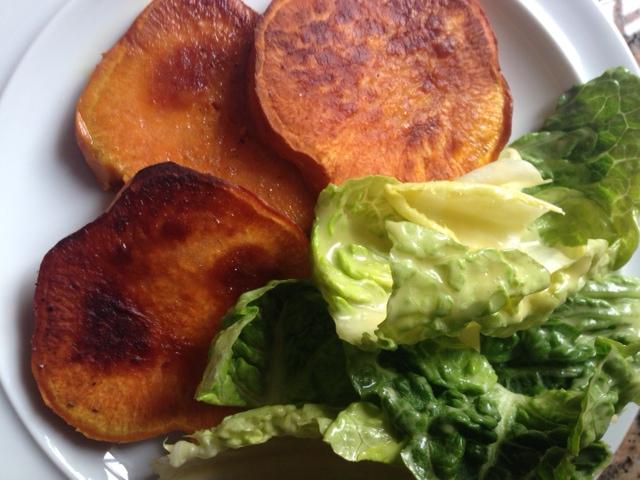 6 Salat mit Süßkartoffeln