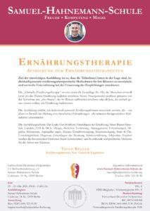 Einladung zur Ausbildung in Ernährungsberatung