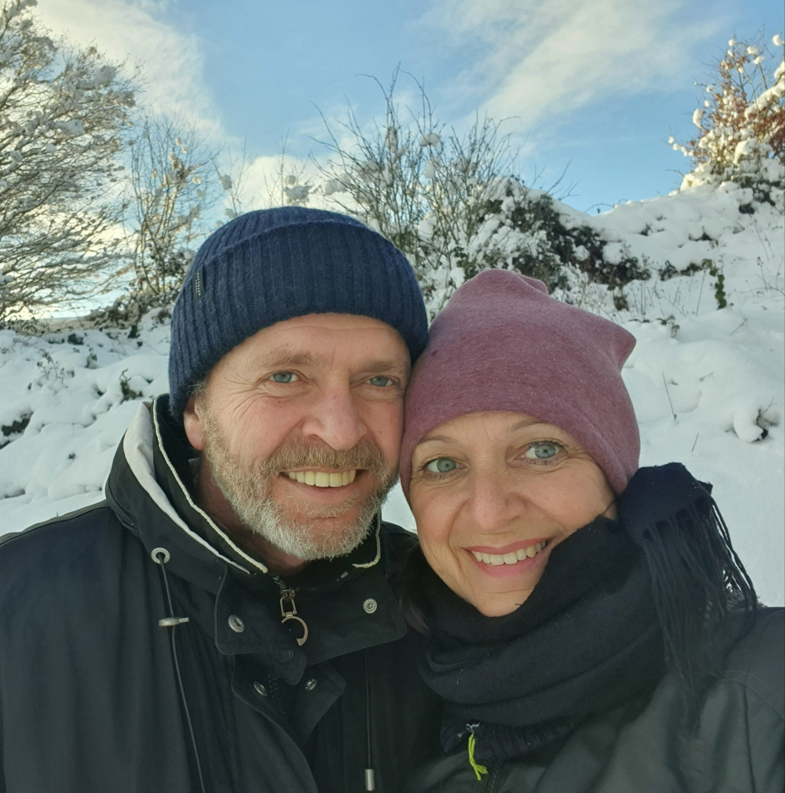 Kathi-Wolli im Schnee